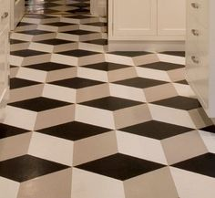 Congoleum Vinyl Flooring - modern - Floors - Los Angeles - Crogan Inlay Floors