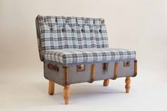 suitcase chair by katie Thompson