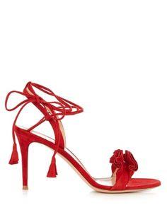 Flora suede sandals  | Gianvito Rossi | MATCHESFASHION.COM US