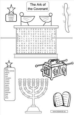 teaching kids about the ark of the covenant - Google Search: