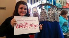 Another happy girl who found her prom dress at The Clothes Horse and could win our Win Your Prom Dress Sweepstakes! #TCHProm #perfectprom #prom #promdress #prom2015 #promdresses #promshopping #OrchardPark #Buffaloprom #shopOrchardPark #ClothesHorseProm15 #freepromdress #winyourpromdress