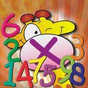 Juego de Tablas (de Matematica). Esta app es para practicar las tablas de multiplicación de una manera divertida. Este app es una divertida manera para que los niños practiquen las tablas de multiplicación. A través de mucha práctica y preferiblemente en diferentes maneras (como decirlo en voz alta, escrito en papél o con este sencillo juego) las tablas se automatisan. JUEGO DE TABLAS DE MATEMÁTICA es un app educativo para niños desde 7 años. Etapa: PRIMARIA