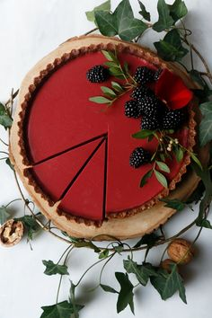 Beetroot Hibiscus Tart (vegan & grain-free) Grain-free vegan wholesome dessert w. - Beetroot Hibiscus Tart (vegan & grain-free) Grain-free vegan wholesome dessert w. Beetroot Hibiscus Tart (vegan & grain-free) Grain-free vegan whole. Tart Recipes, Vegan Sweets, Healthy Dessert Recipes, Vegan Desserts, Sweet Recipes, Lasagna Recipes, Keto Recipes, Cod Recipes, Ramen Recipes
