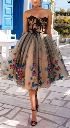 Gorgeous butterfly dress!