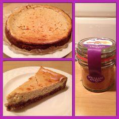 Heerlijke speculaas cheesecake. Moeite waard om nog eens te maken! Recept: http://www.lekkerensimpel.com/2013/01/speculaas-cheesecake/