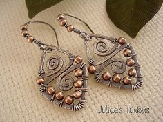 Aztecs---Sterling Silver/Copper | by julidadesigns