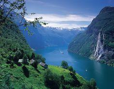 Vestlandet, Oeste de Noruega ..