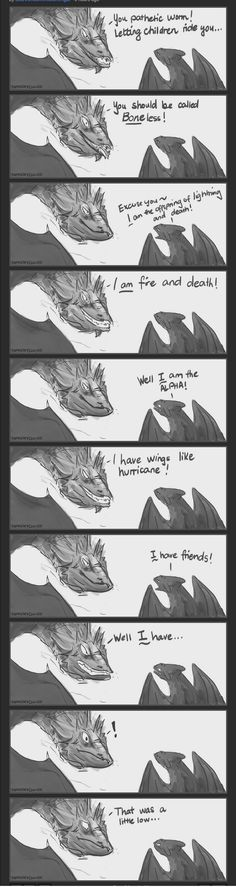 Behold, a Smaug and Toothless sass-off! Based on Colbert's interview with Smaug 〖 DreamWorks How to Train Your Dragon Toothless The Hobbit Smaug Stephen Colbert interview parody funny 〗 Tolkien, Memes 9gag, Funny Memes, Funny Videos, How To Train Dragon, How To Train Your, Hicks Und Astrid, Film Anime, O Hobbit