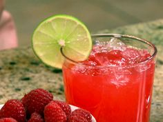 Sparkling Raspberry Limeade Recipe : Patrick and Gina Neely : Food Network - FoodNetwork.com