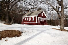 Built in 1887~Foresdale, RI   Now houses the North Smithfield Heritage Assocation.