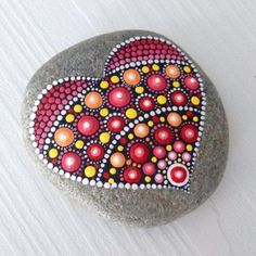 Valentine Painted Rocks 45