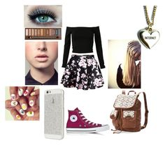 """""""#Gurly"""" by the-one-and-only-unicorn ❤ liked on Polyvore featuring Converse, Mudd, Lazy Oaf and Easy Spirit"""