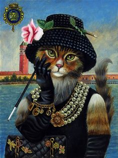 Joyce Grams - Coco Channel Cat