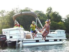 Pontoon Boat...the ideal party boat!