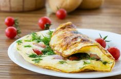The Hundred Foot Journey's Omelette Aux Fines Herbes Recipe is the classic recipe from Dreamworks' The Hundred Foot Journey Fines Herbes Recipe, Cheese Omelet Recipe, Egg Recipes, Cooking Recipes, Greek Recipes, Healthy Cooking, Healthy Recipes, How To Make Omelette, Greek Potatoes