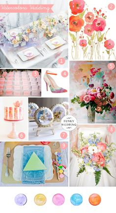 matrimonio a tema, inspiration boards