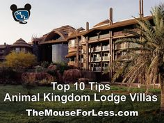 Tips for Animal Kingdom Lodge from www.themouseforless.com  I love this resort!