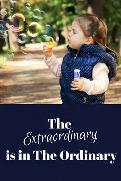 Extraordinary is in