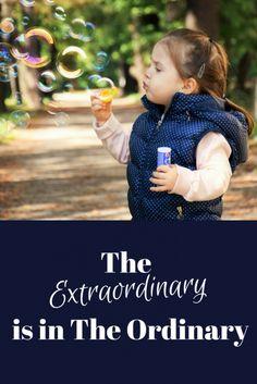 Extraordinary is in