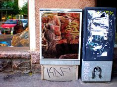 Street Art of North: And not so authorized street art in Helsinki, Kallio