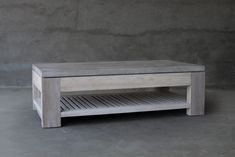 "CONCRETE & RECLAIMED TEAK COCKTAIL TABLECode: M1-OD740TL-TKWDimensions: 60""L x 32""W x 18""H"