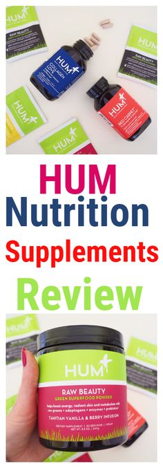 Hum Nutrition Supplements Review from @nourishyourglow