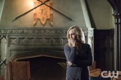 "The Vampire Diaries -- ""Let Her Go"" -- Image Number: VD615a_0191.jpg -- Pictured: Candice Accola as Caroline -- Photo: Tina Rowden/The CW -- © 2015 The CW Network, LLC. All rights reserved.pn"