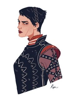 Cassandra Pentaghast | Dragon age inquisition illustration by Sara Kipin meexart.tumblr.com