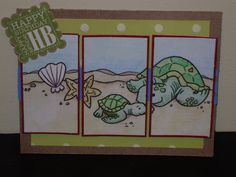 Crafting on the Cheap: Birthday Turtles
