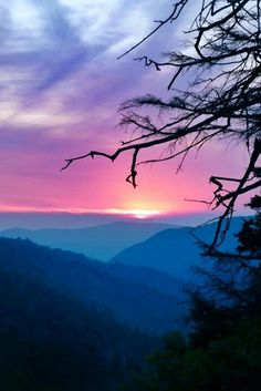 #SmokyMountain #Sunsets are a peaceful close to any day.