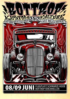 Bottrop Kustom Kulture 2012 - Design by Empire32