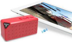 BOOMJAM Ultra-Portable Mini Wireless Bluetooth Speaker - Red on http://techaccessories.kerdeal.com/boomjam-ultra-portable-mini-wireless-bluetooth-speaker-red