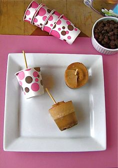 International Delight Iced Coffee-Chocolate Chip Popsicles
