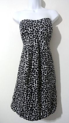 White House Black Market 100% Silk Dress Cocktail Printed Career 12 Large XL L #BCBGMAXAZRIA #Cocktail