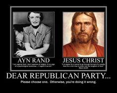 Dear Republican Party....