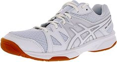 Asics Womens GelUpcourt 1 WhiteBlackSilver AnkleHigh Synthetic Women's Tennis and Racquet Sports Shoes Shoe  9M >>> Learn more by visiting the image link.(This is an Amazon affiliate link and I receive a commission for the sales)