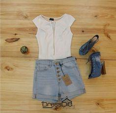 Fresca, bella y única 💁🏻🍃 Viste en #DressDie 📍#ccpiedemonte #fashiondress #outfit