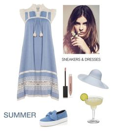 """""""Summertime Beauty"""" by kotnourka ❤ liked on Polyvore featuring Sea, New York, Rebecca Minkoff and Burberry"""