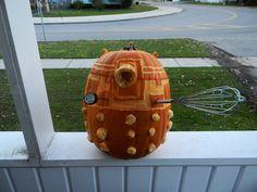 My Dalek  Pumpkin 2013