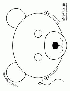 ... childhood templates on Pinterest | Templates, Mask template and Masks