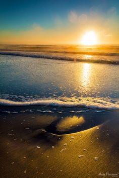 Amazing sunrise in Australia