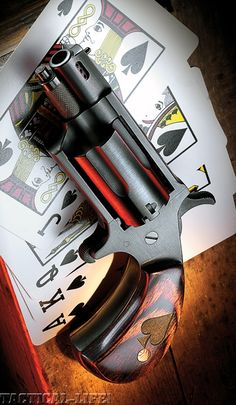 Customized North American Arms .22 Magnum Mini-Revolver with ported barrel.