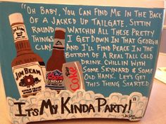 frat cooler - ok, without the Jason Aldean lyrics. Sorority Canvas, Sorority Life, Sorority Paddles, Sorority Crafts, Sorority Recruitment, Country Lyrics, Country Music, Jason Aldean Lyrics, Diy Cooler