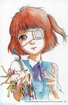"""akatako: Shintaro Kago From """"Panna Cotta"""", by Shintaro Kago"""