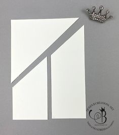 he middle of front panel. Card Making Templates, Card Making Tutorials, Card Making Techniques, Tri Fold Cards, Fancy Fold Cards, Folded Cards, Mini Albums, Paper Cards, 3d Cards