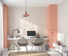 """Die Tapeten von Erismann aus der Kollektion """"Ophelia"""" bringt Euch mit frischen Farben und verspielten Mustern den Frühling in die eigenen vier Wände!"""