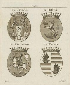 Wappen . Armas de Condes húngaros.