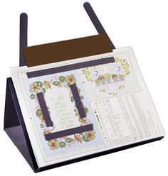 A PROP-IT Magnetic Needlework Chart Holder - Santa, would you please add this to my wish list? I've been a good girl!