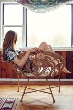 Rope Lace Tiara Chair - Urban Outfitters - Swoon...