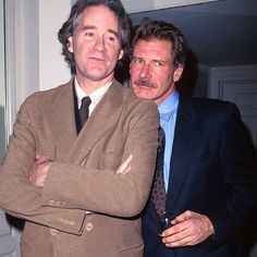 Kevin Kline and Harrison Ford. Love them both.